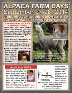2014 Alpaca Farm Days